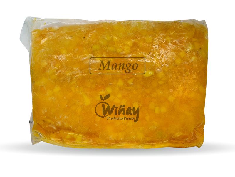 Pulpa de Mango congelada