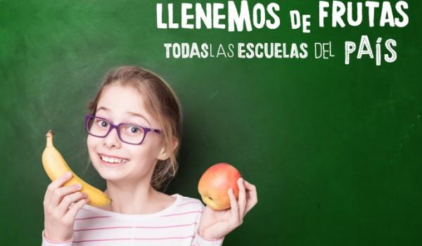 Nueva edición de Fruteá Tu Escuela